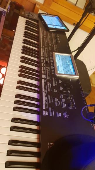 Keyboard ist gestimmt :-D